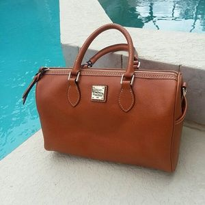 DOONEY & BOURKE Tan Leather Handbag